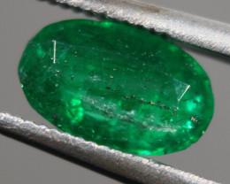 Cts.  0.75 Zambian emerald   OVAL  RFA74
