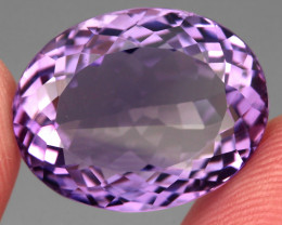 Clean 21.61 Ct. 100% Natural Top Rich Purple Amethyst Unheated