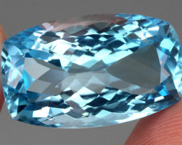 26.73 ct. 100% Natural Earth Mined Top Quality Blue Topaz Brazil