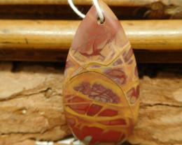 New design picture jasper pendant (G2420)