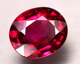 Rhodolite 4.25Ct Natural Purplish Red Rhodolite Garnet D2702/B28