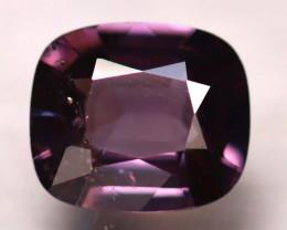 Spinel 2.19Ct Mogok Spinel Natural Burmese Titanium Purple Spinel DA2707/A1