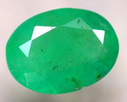 Emerald 1.73Ct Natural Zambia Green Emerald D2716/A38