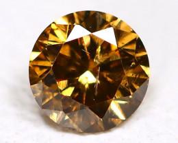 Champagne Diamond 0.14Ct Untreated Genuine Fancy Diamond AB2430