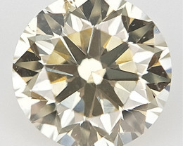 0.17 cts , Light Colored Diamond , Natural yellow Color Diamond