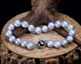 111.55Ct Natural Fresh Water Pearl Beads Bracelet B2451