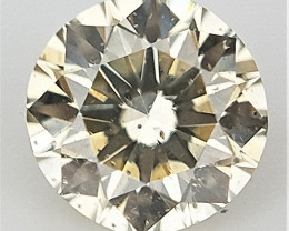 0.09 CTS , Round Natural Diamond , Sparkling Diamond