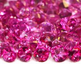Pink Topaz 3.75Ct Calibrate 2.0mm Natural Pink Color Topaz Lot B2468
