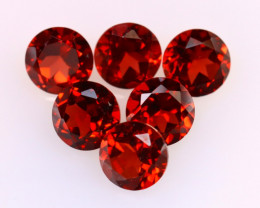 Garnet 3.65Ct 6Pcs Natural Spessartite Garnet EF2823/B1