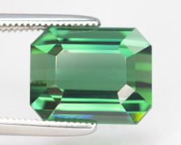 5.75 Carat Natural Afghanistan Blue Green Tourmaline