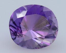 3.75 CT Natural Gorgeous Color Fancy Cut Amethyst A.Q