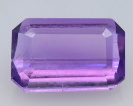 5.80 CT Natural Gorgeous Color Fancy Cut Amethyst A.Q