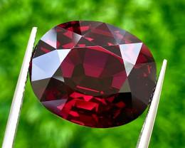 31.14 ct Rhodolite Garnet With Fine Cutting  Gemstone