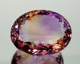 21.55Crt Bolivian  Ametrine Natural Gemstones JI27