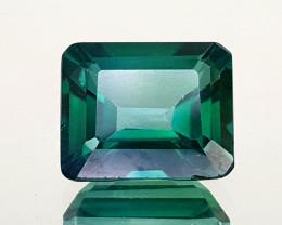 5.65Crt Green Topaz Coated  Natural Gemstones JI27