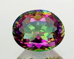2.45Crt Mystic Quartz Natural Gemstones JI27
