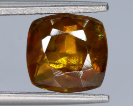 Rare AAA Astonishing Fire 2.25 ct Chrome Sphene