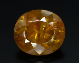 Rare AAA Astonishing Fire 2.20 ct Chrome Sphene