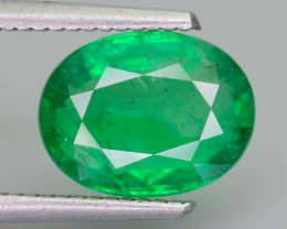 2.99 ct Zambian Emerald Vivid Green Color SKU-36