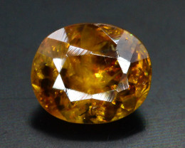 Rare AAA Astonishing Fire 1.40 ct Chrome Sphene