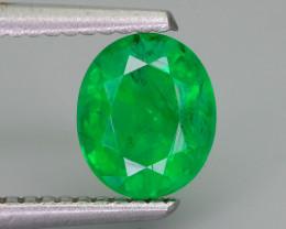 Emerald 1.28 ct  Vivid Green Color Zambia  SKU-36