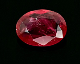 0.99CT RED RUBY HEATED BEST QUALITY GEMSTONE IIGC52