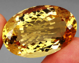 67.01 Ct. 100% Natural Earth Mined Top Quality Yellow Golden Citrine Unheat