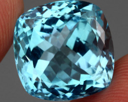 28.42  ct.100% Natural Earth Mined Top Quality Blue Topaz Brazil