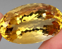 Museum Size 91.19 ct. Natural Unheated Top Quality Yellow Golden Citrine