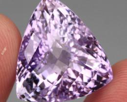 31.95 ct 100% Natural Earth Mined Unheated Purple Amethyst, Uruguay