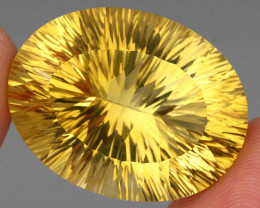 67.22 ct. Top Quality Natural Golden Yellow Citrine Brazil Unheated