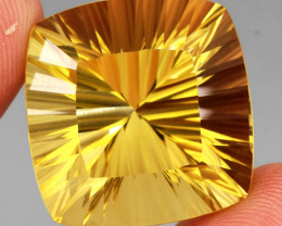 63.03 ct. 100% Natural Earth Mined Unheated Top Yellow Golden Citrine
