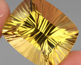 50.35 ct. Top Quality Natural Golden Yellow Citrine Brazil Unheated