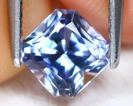 Tanzanite 1.01Ct VVS Master Cut Natural Purplish Blue Tanzanite B2664