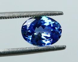 1.61 Cts~ IGI-Certified- Blue Tanzanite Gemstone