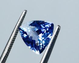 1.71 Cts~ IGI-Certified- Blue Tanzanite Gemstone