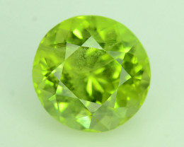 Lovely Color 3.75 ct Peridot Ring Size