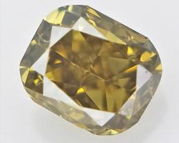 0.11 cts , Natural Color Diamond , Rare Natural Diamond