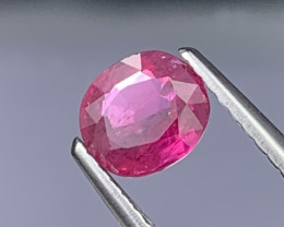 Rare Siam (Thailand) Top Quality Natural Ruby 0.77 Cts