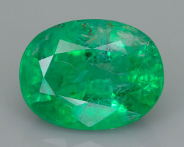 Good Clarity  1.41 ct Emerald Zambian Mine  SKU-36