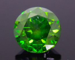 Certified Green Diamond 1.02 ct Top Grade Brilliance