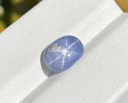 Natural Star Sapphire 3.35 Cts