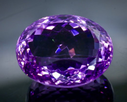 26.46 Crt Natural Amethyst Faceted Gemstone.( AB 46)