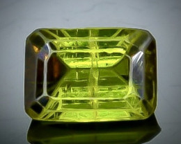 1.24 Crt Natural  Tourmaline Faceted Gemstone.( AB 46)