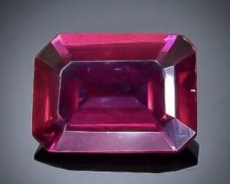 1.09 Crt Natural Rhodolite Garnet  Faceted Gemstone.( AB 46)