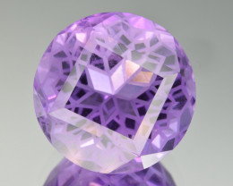 Natural Amethyst 19.50  Cts Precision  Cut, Top Quality Gemstone