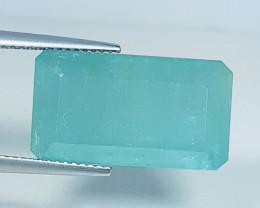 12.05 ct Exclusive Gem Amazing Emerald Cut Natural Grandidierite