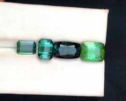8.30 Carats Natural Tourmaline Mix Color Set