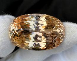 220 Carats Natural Peach Color Kunzite Gemstone