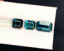 9.95 Carats Natural indicolite tourmaline Gemstones